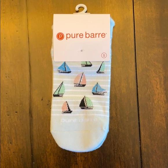 Pure Barre Sailboat Sticky Socks